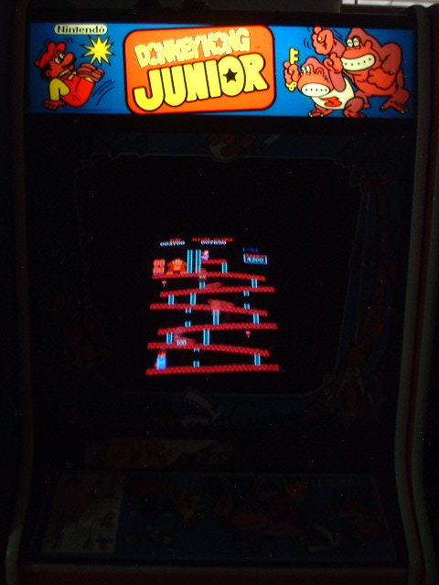 Donkey Kong selected.....so cool!
